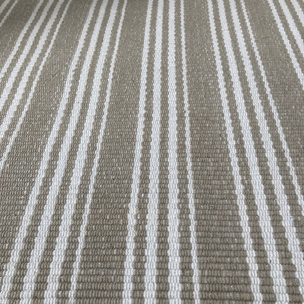 Indah Island Collaboration - Floor Rug Recycled Cotton - Armani Beige