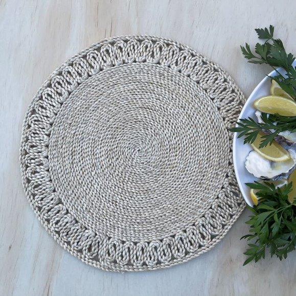 Handmade Jute Plantation Placemat - Natural