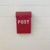 Post Box - Medium - red