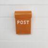 Post Box - Medium - orange