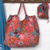 Beach Bag XXL BAG89 - coral-retro
