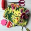 Pencil Case/Pouch Floral Print - citrus-floral