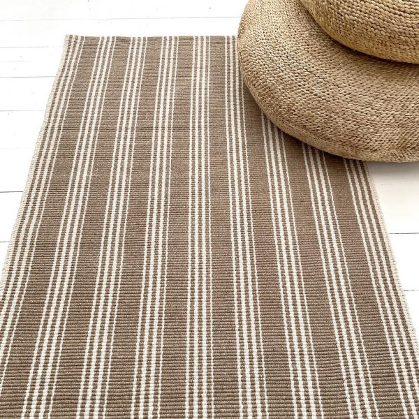 Indah Island Collaboration - Floor Rug Recycled Cotton - Armani beige