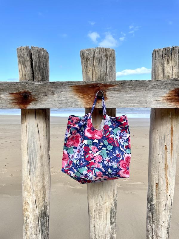 XXL beach Bag -cornflower blue