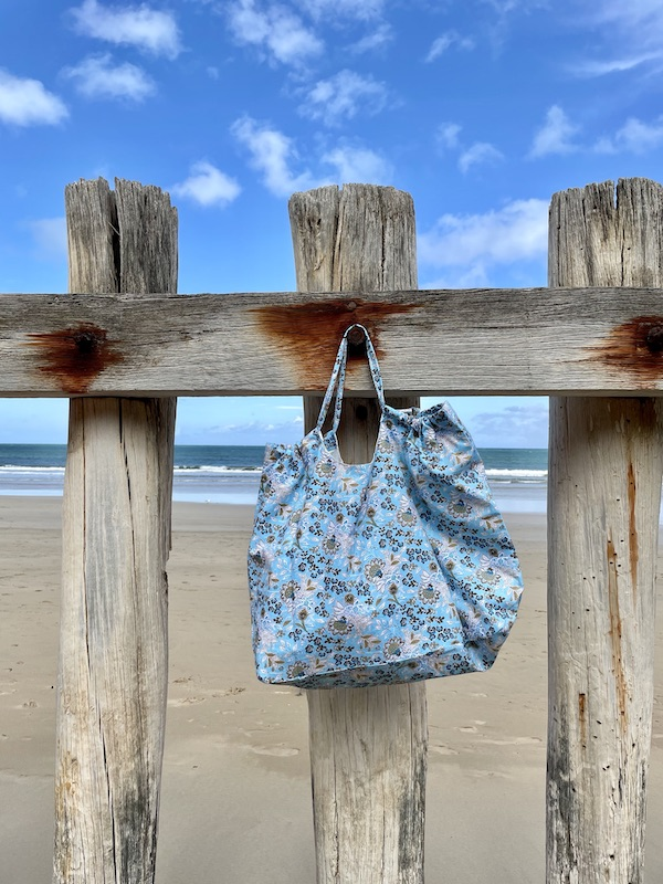 XXL beach Bag -sky blue