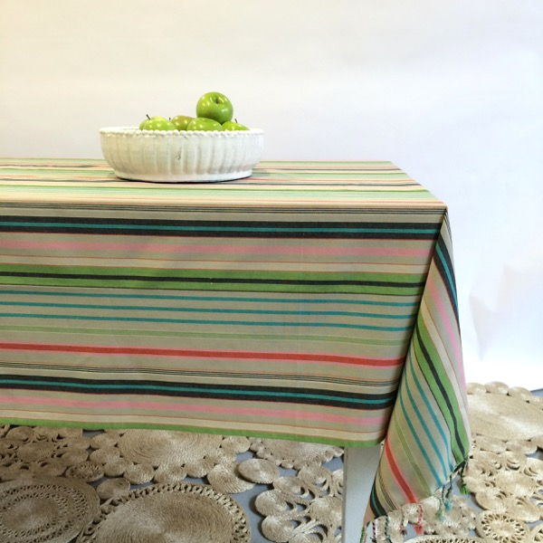 Table cloth italian garden