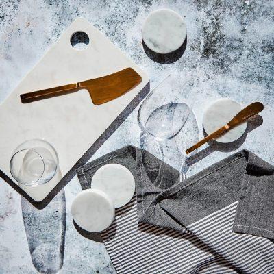 Carnival Homewares Striped Tea Towels for Style Bundle